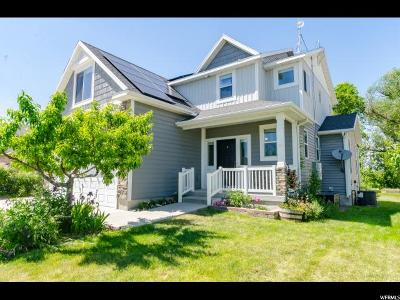 Wellsville Single Family Home Under Contract: 823 E 675 N