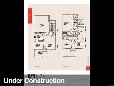 South Jordan Townhouse For Sale: 11403 S Regalstone Dr W #132