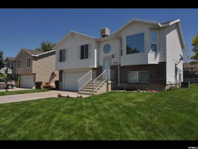 Davis County Single Family Home Under Contract: 1878 N 810 W