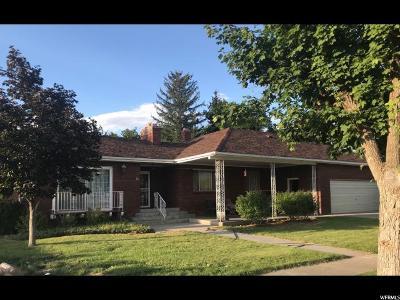 Fillmore Single Family Home For Sale: 55 E Center St