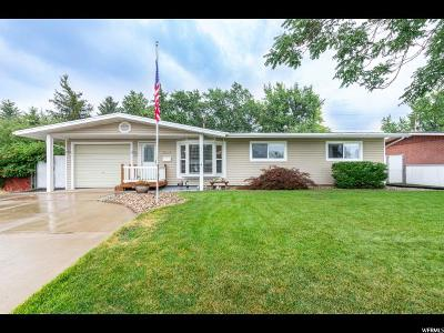 Roy Single Family Home Under Contract: 5046 S 2275 W