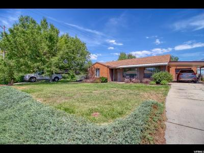 Single Family Home For Sale: 85 E 1600 S