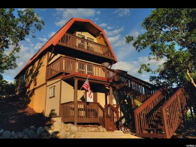 Heber City Single Family Home For Sale: 1630 S Cedar Hollow Ct S #870