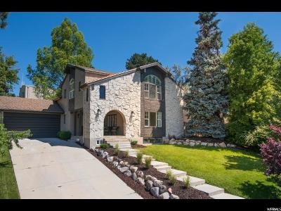 Salt Lake County Single Family Home For Sale: 1301 E Federal Heights Dr