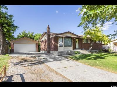 West Jordan Single Family Home Under Contract: 1960 W Camelot Way S