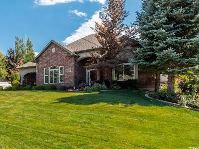 Ogden Single Family Home Under Contract: 1531 E Wasatch Dr S