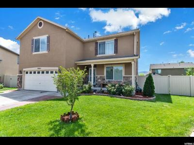 Lehi Single Family Home Under Contract: 3663 W Olive Cv