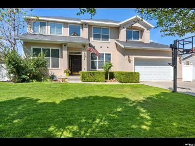 West Jordan Single Family Home For Sale: 8734 Deep Creek Cir