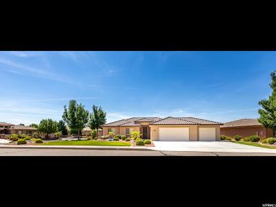 St. George Single Family Home For Sale: 1438 E 2420 Cir S