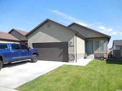Eagle Mountain Single Family Home Under Contract: 1703 Shadow Dr E