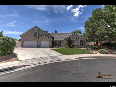 St. George Single Family Home Under Contract: 3596 S 1700 W