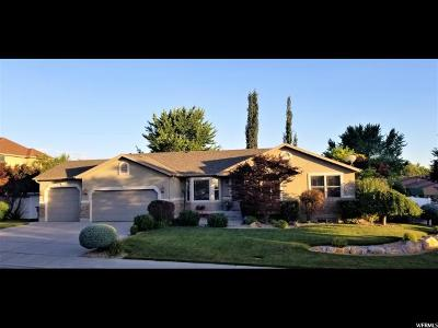 Pleasant Grove Single Family Home Under Contract: 1155 W 1320 St N
