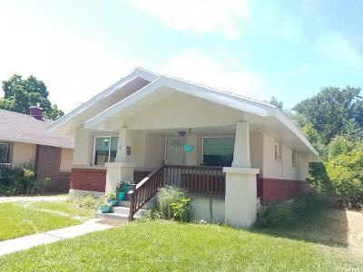 Logan Single Family Home For Sale: 81 N 500 E