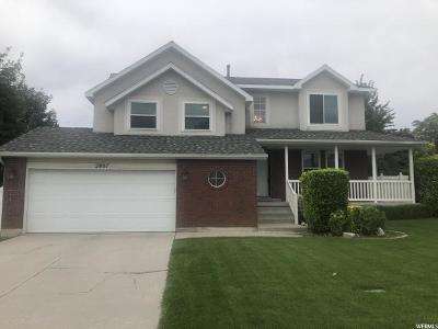 South Jordan Single Family Home Under Contract: 2807 W 9760 S