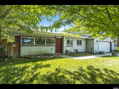 Cottonwood Heights Single Family Home Under Contract: 7301 S 2825 E