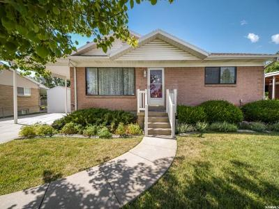 West Jordan Single Family Home Under Contract: 1601 W Leland Dr