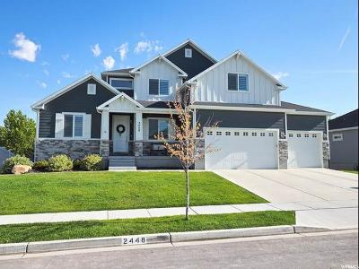 Lehi Single Family Home Under Contract: 2448 W 275 N