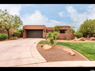 St. George Single Family Home For Sale: 2139 W Cougar Rock Cir #132