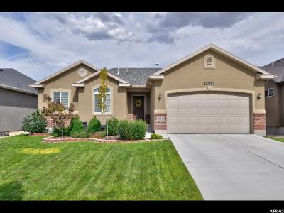 Riverton Single Family Home Under Contract: 12851 S Wild Mare Way