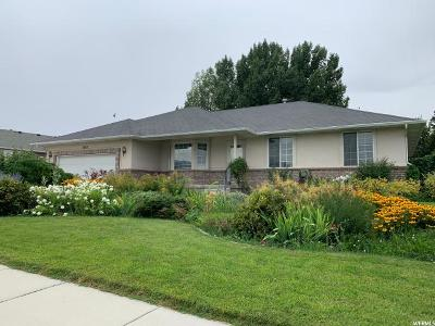 West Jordan Single Family Home Under Contract: 8412 S Stratford W