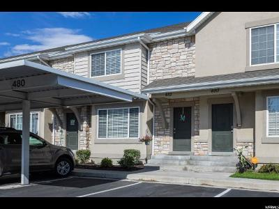 Orem Townhouse Under Contract: 482 N 1235 W