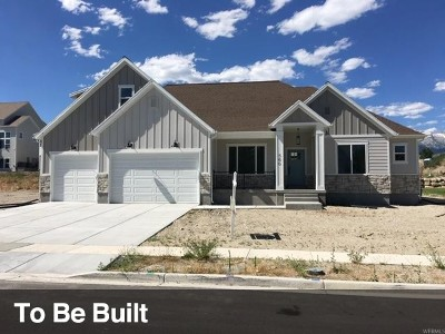 Wasatch County Single Family Home For Sale: 1340 S 960 E #1-18