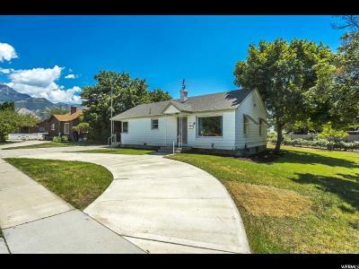 Orem Single Family Home For Sale: 572 E Center St