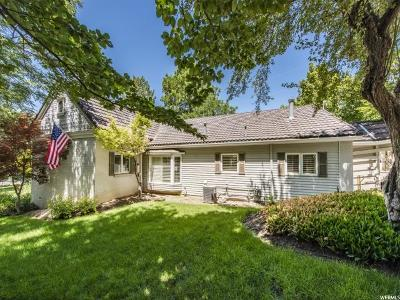Holladay Single Family Home For Sale: 4985 S Holladay Blvd E