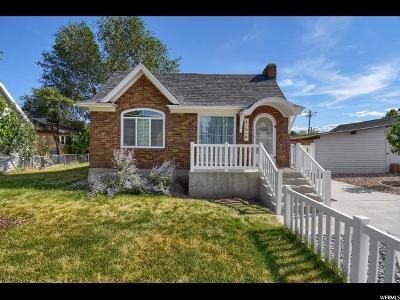 Orem Single Family Home Under Contract: 16 E 400 N