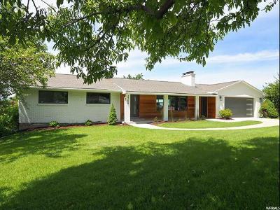 Salt Lake City Single Family Home Backup: 3344 E Oakcliff Dr