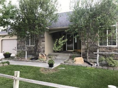 Eagle Mountain Single Family Home Under Contract: 2092 E Easter Dr