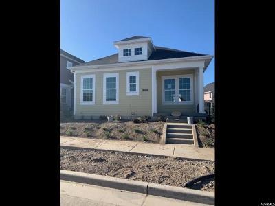 South Jordan Single Family Home For Sale: 6298 W Lake Ave #226