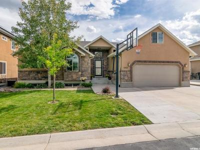 South Jordan Single Family Home Under Contract: 3921 Sand Lake Dr