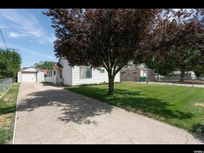 Davis County Single Family Home Under Contract: 257 N Francis Ave W