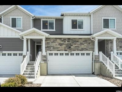 Bluffdale Townhouse For Sale: 15387 S Skyraider Ln W #176