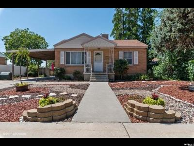 Orem Single Family Home Under Contract: 843 N 75 E