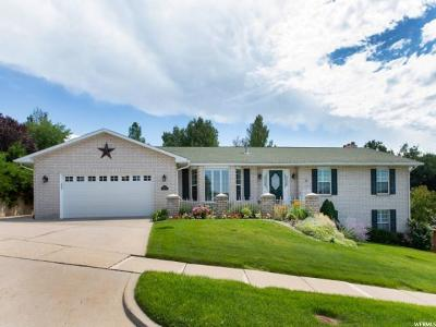 Bountiful Single Family Home Under Contract: 1496 Lakeview Dr