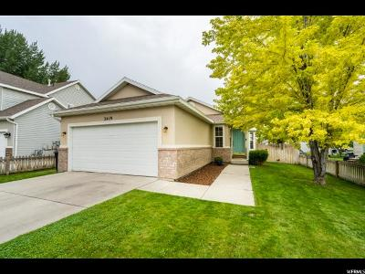Provo Single Family Home Under Contract: 2419 W 180 S