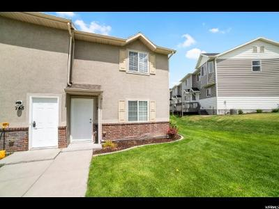 Tooele County Townhouse Under Contract: 744 W 600 N