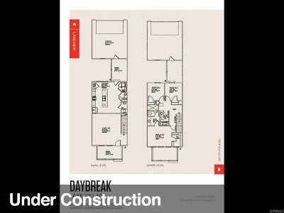 South Jordan Townhouse Under Contract: 4576 W Serendipity Way S #231