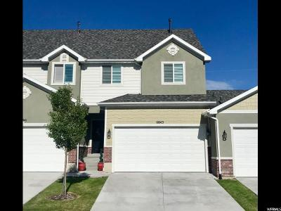 Riverton Townhouse For Sale: 11843 S Cedar Valley Dr