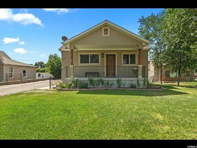 Springville Single Family Home Under Contract: 1350 S 400 E