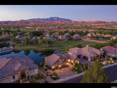 St. George Single Family Home For Sale: 2584 W Canyon Ridge Rd