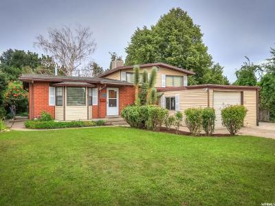 Midvale Single Family Home Under Contract: 322 W Princeton Dr