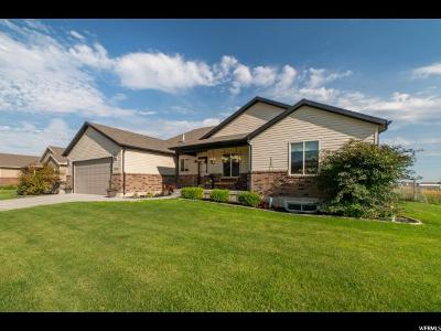 Tremonton Single Family Home For Sale: 2555 W 900 N