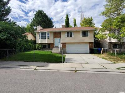 West Jordan Single Family Home Under Contract: 4966 W Shooting Star Ave S