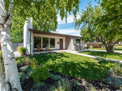 Salt Lake County Single Family Home Under Contract: 1460 S El Rey St