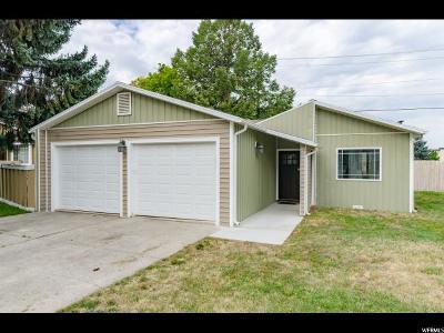 Logan UT Single Family Home For Sale: $219,900