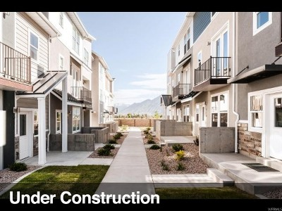 Spanish Fork Townhouse Under Contract: 877 S 2560 E #12