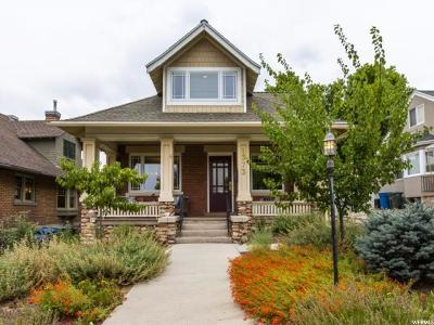 Salt Lake County Single Family Home Backup: 1373 E Browning Ave S